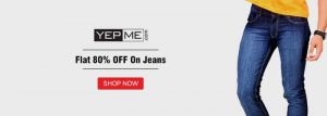 Yepme Jeans Coupons