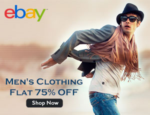 eBay Men's Clothing Offers