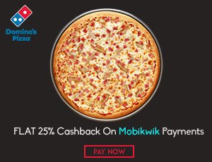 Domino's Mobikwik Coupons