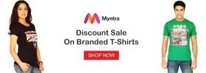 Myntra shirts Offers