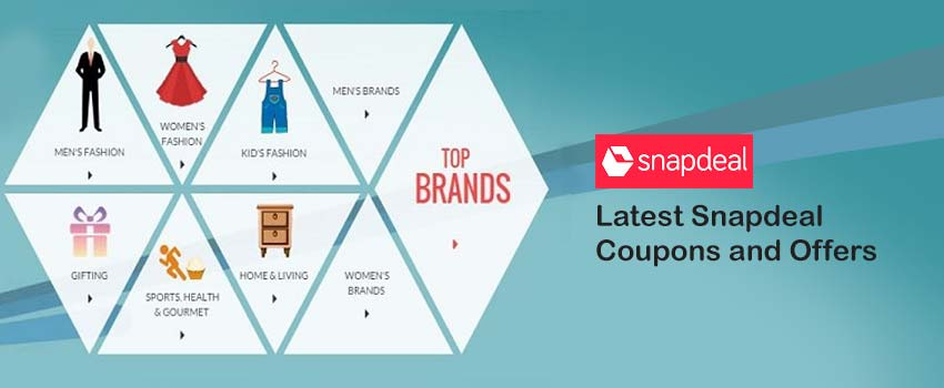 Discount coupons of snapdeal