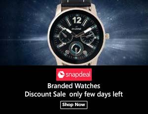 Snapdeal Watches Coupons