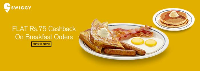 Swiggy Breakfast offers