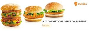 Swiggy Burger Coupons